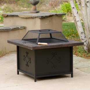 Lestar Iron Charcoal Fire Pit Table by Home Loft Concepts