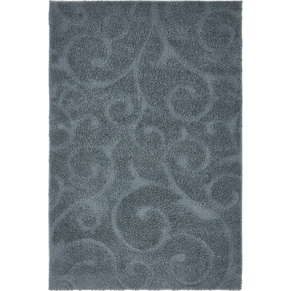 Rinaldi Floral Blue Area Rug by Charlton Home