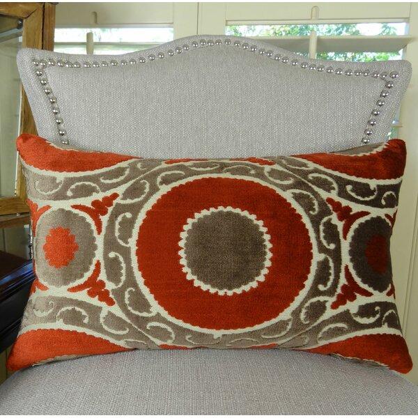 Pomegranate Lumbar Pillow by Plutus Brands
