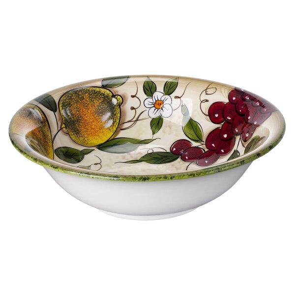 Burdette Ceramic Salad Bowl