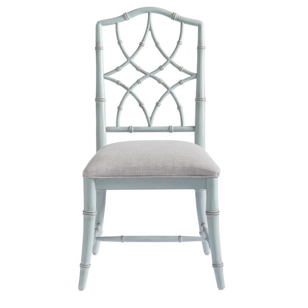 Viet Upholstered Dining Chair (Set of 2) by Bayou Breeze