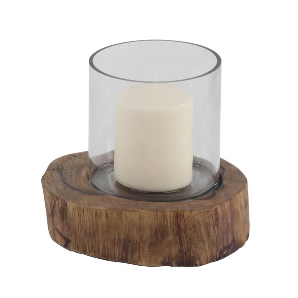 Rustic Wood Hurricane by Union Rustic