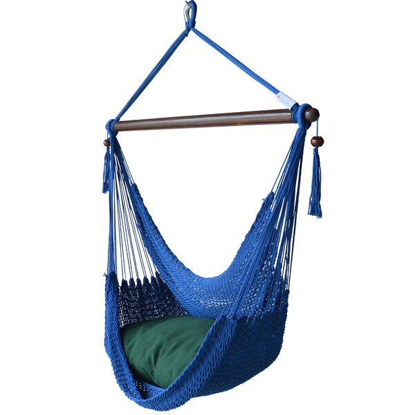 Blanco Polyester Chair Hammock by Highland Dunes