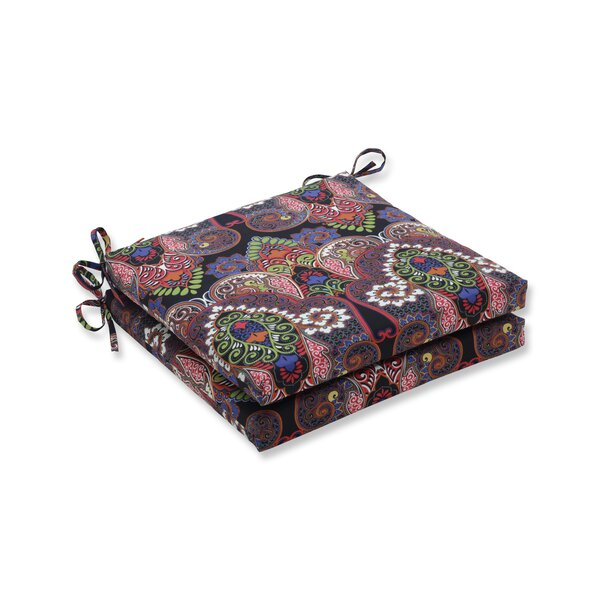 Indoor/Outdoor Dining Chair Cushion (Set of 2) by Bloomsbury Market