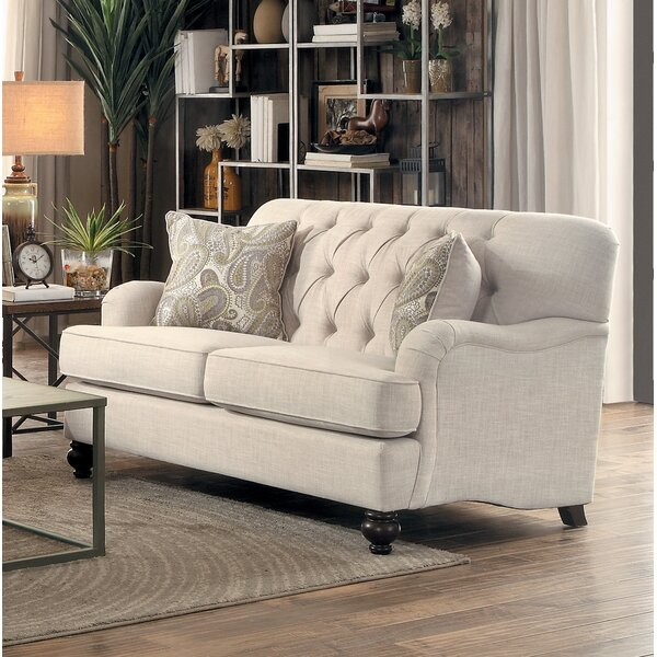 Beautiful Alongi Loveseat by Canora Grey by Canora Grey