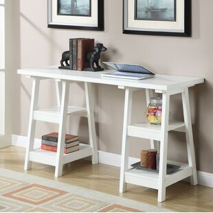 White Trestle Desk Wayfair - Wayfair trestle table