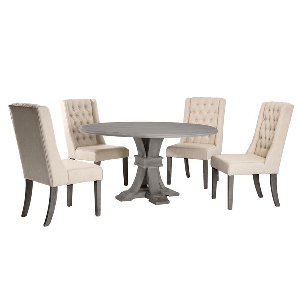 Cassiopeia 5 Piece Dining Set by One Allium Way