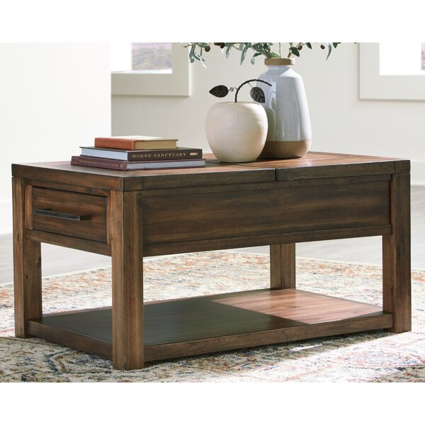Brigman Lift Top Coffee Table by Millwood Pines Millwood Pines