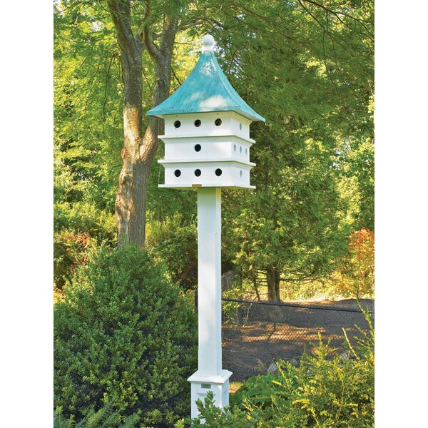Lazy Hill Farm Ultimate 44 in x 23 in x 23 in Purple Martin House by Good Directions