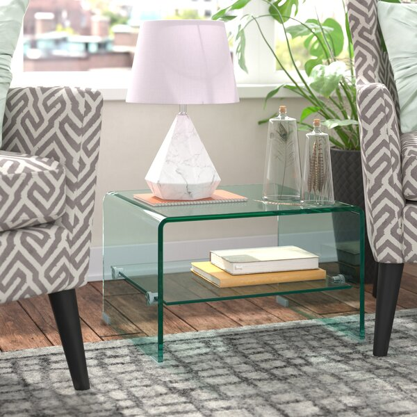 Cornish Hills End Table by Wade Logan