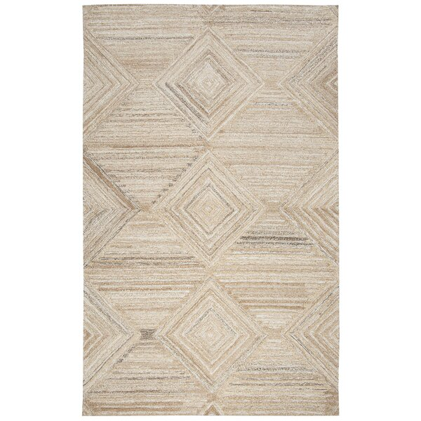 Yucca Place Hand-Tufted Tan Area Rug by Langley Street