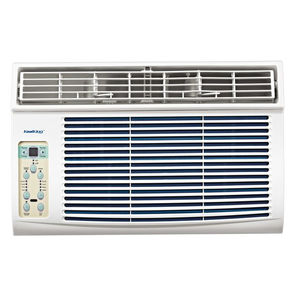 Kool King 8,000 BTU Energy Star Window Air Conditioner with Remote by Midea