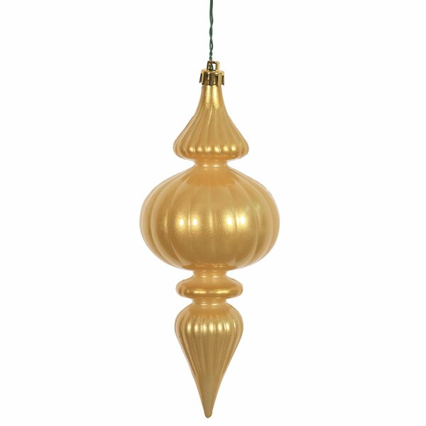 Christmas Finial Ornament with Cap (Set of 6) by The Holiday Aisle