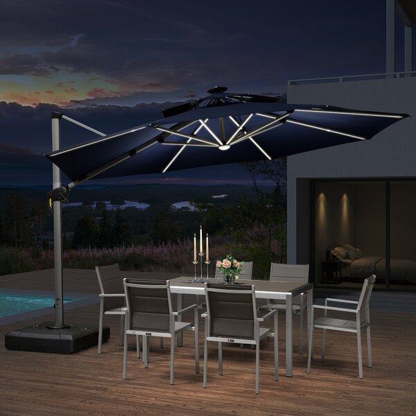 Jennet 10' Cantilever Umbrella By Latitude Run by Latitude Run Best Design