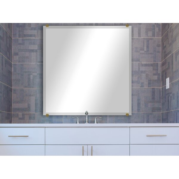 Arbonne Beveled Frameless Mirror