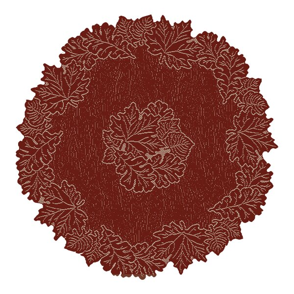 Leaf Round 36 Placemat by Heritage Lace