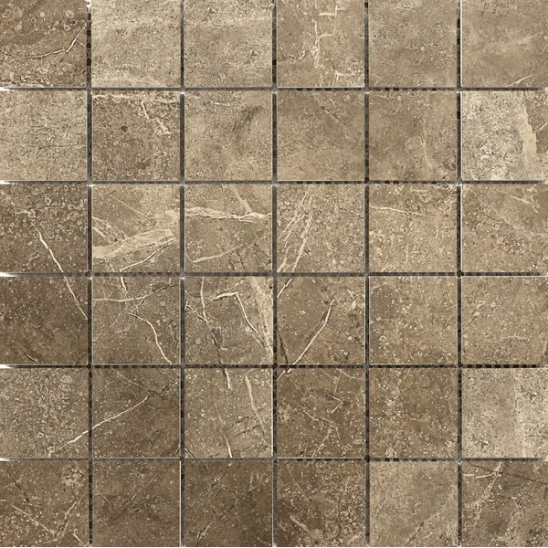 Realm 2 x 2 Ceramic Stone Look Mosaic Tile in Region by Emser Tile