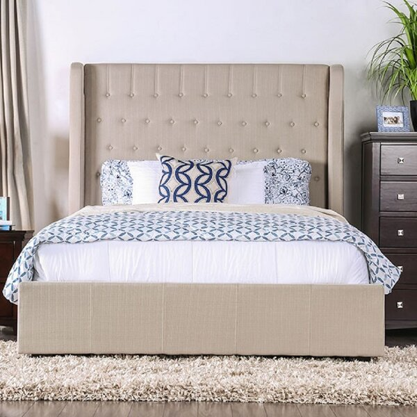 Weatherby Upholstered Platform Bed by Canora Grey