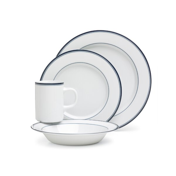 Concerto Allegro Blue 4 Piece Place Setting, Service for 1 by Dansk