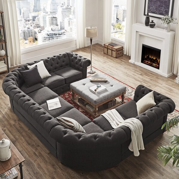 #2 Gowans Sectional By Three Posts Today Only Sale