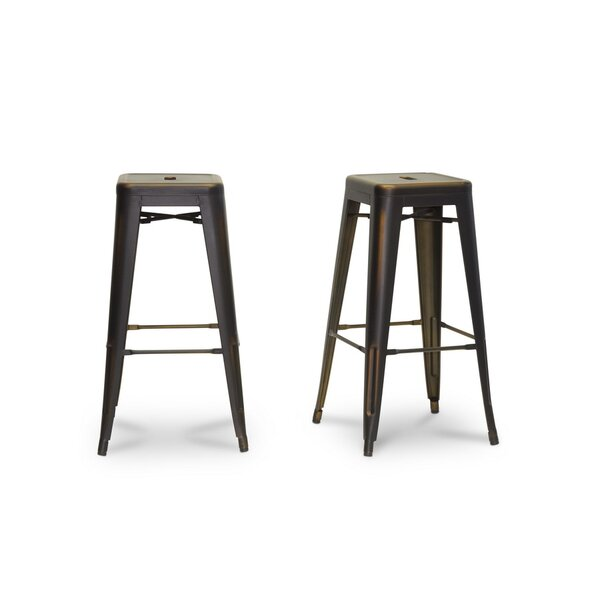 Mchaney 30.38 Bar Stool (Set of 2) by Williston Forge