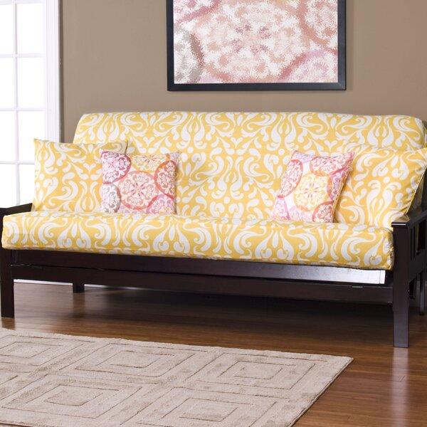 Appletree Zipper Box Cushion Futon Slipcover by Alcott Hill