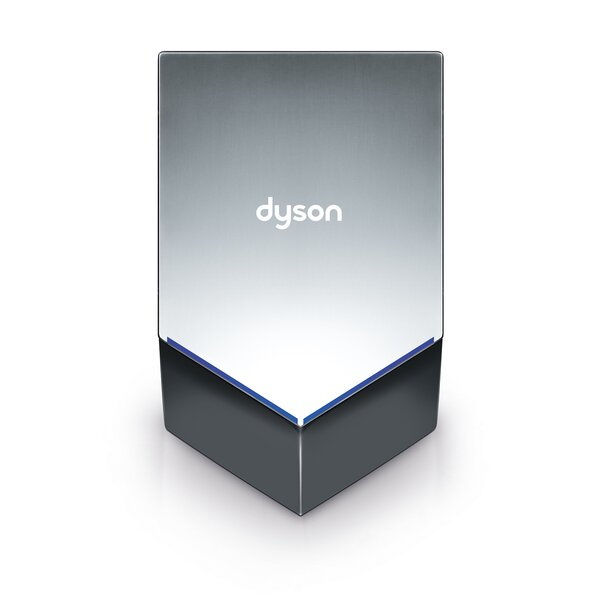 V 240 Volt Hand Dryer in Sprayed Nickel by Dyson