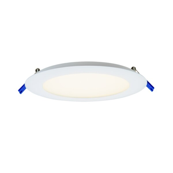 Round Panel 6 LED Recessed Trim by DALS Lighting