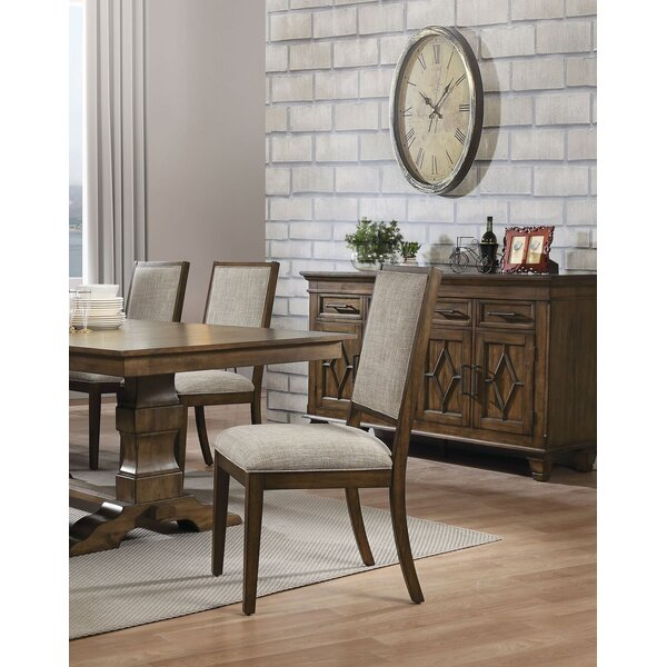 Calhoon Upholstered Dining Chair (Set of 2) by Gracie Oaks