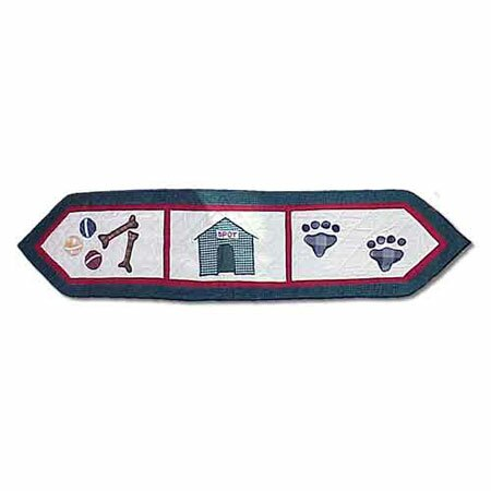 Fido Table Runner by Patch Magic
