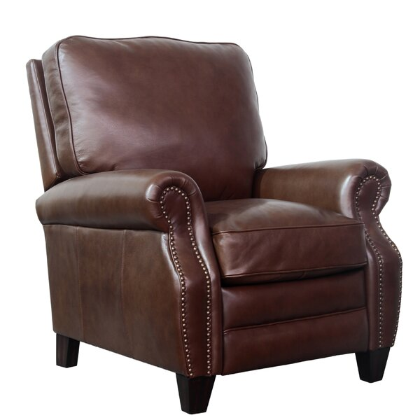 Terrill Leather Manual Recliner