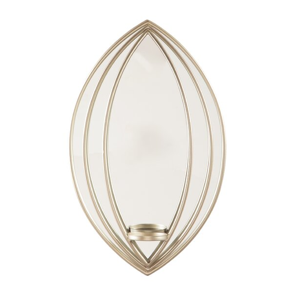 Metal Sconce by Charlton Home