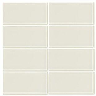 3 X 6 Gl Subway Tile In Glossy Cream