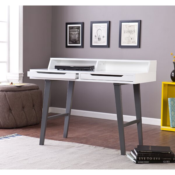 Holly and Martin Desk with Hutch by Wildon Home ®