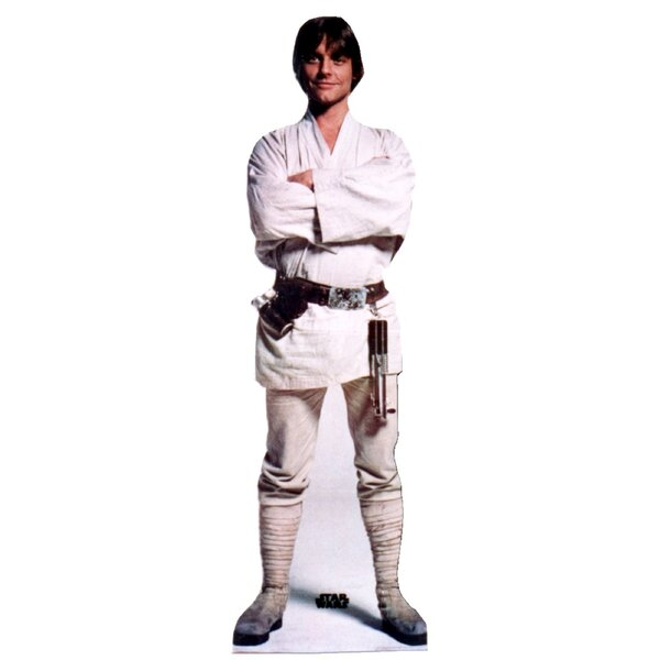 Star Wars - Luke Skywalker Life-Size Cardboard Stand-Up by Advanced Graphics