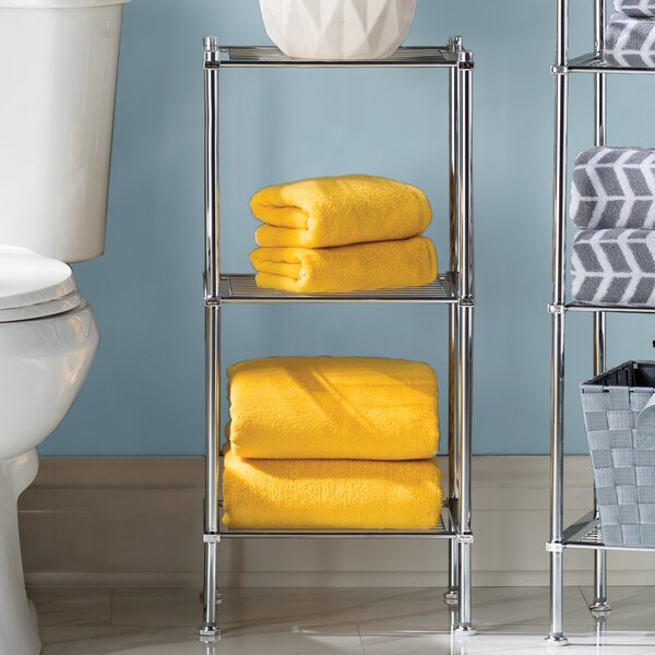 13 W x 29.75 H Bathroom Shelf by Rebrilliant