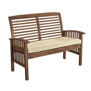 Widmer Patio Loveseat