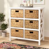 Schimpl 3 Tier X-side 6 Drawer Accent Chest by August Grove