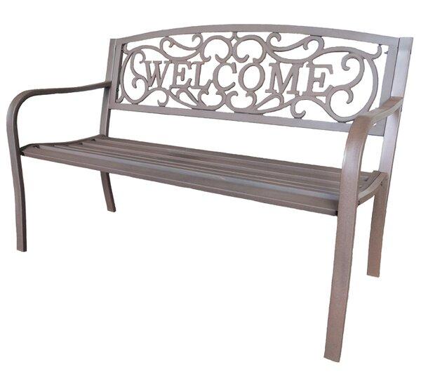 Quam Cast Iron Park Bench by Fleur De Lis Living Fleur De Lis Living