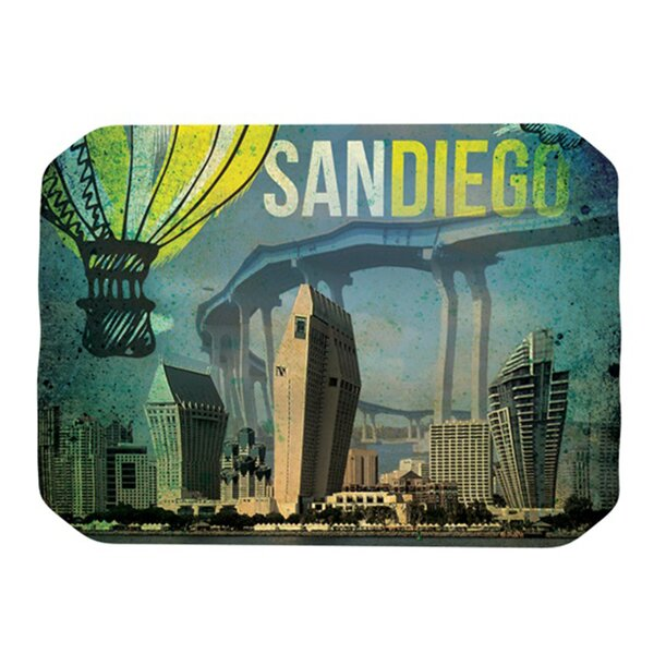 San Diego Placemat by KESS InHouse