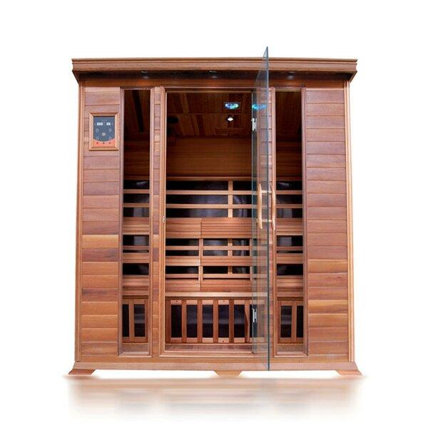 Sequioa Luxury 4 Person FAR Infrared Sauna by SunRay Saunas