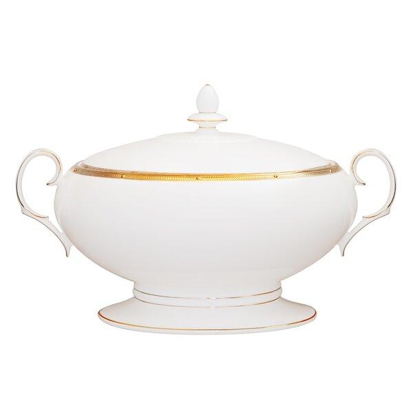 Rochelle Gold 64 oz. Vegetable Bowl by Noritake