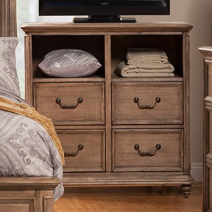 Free S&H Joutel 4 Drawer Chest