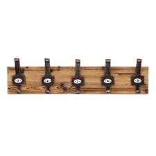 Vintage Wall Mounted Coat Rack by Propac Images