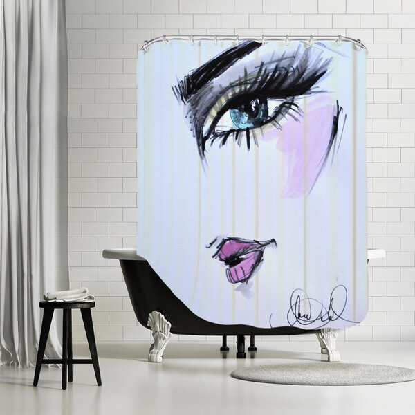Charity Give the Look Shower Curtain by House of Hampton
