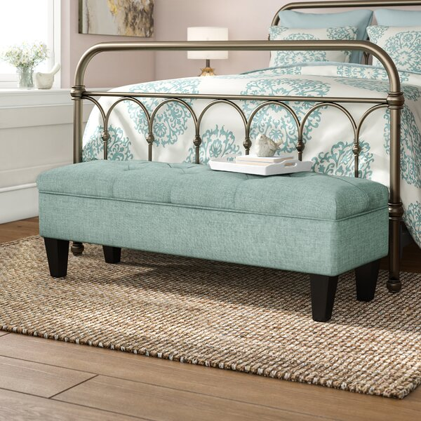Conyers Wood Storage Bench by Charlton Home