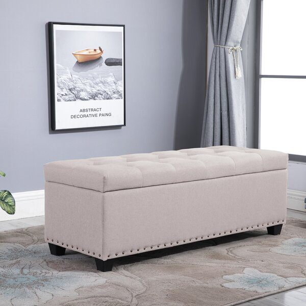 Sibley Tufted Storage Ottoman By Ophelia & Co.