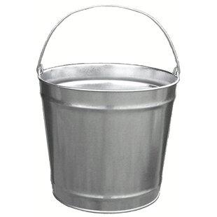 Economy Galvanized 3 Gallon Steel Trash Can