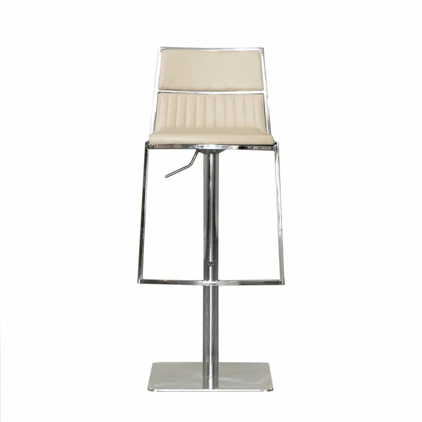 Stanley Adjustable Height Swivel Bar Stool by RMG Fine Imports RMG Fine Imports