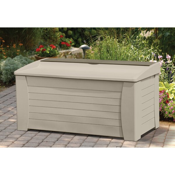 127 Gallon Resin Deck Box by Suncast Suncast